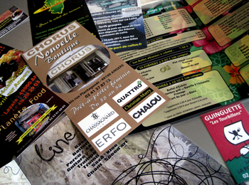 Cartes de visites - flyers - affiches